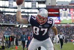 Celebrating on the Field ~ The Gronk spike, he's one step away from copyrighting the thing