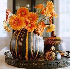 crafty and elegant Halloween decor