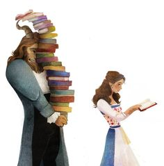 Belle has always been my favorite Disney character. I relate to being the weird, introverted, girl obsessed with books. <3 (: