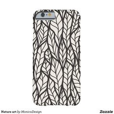Nature art funda para iPhone 6 barely there