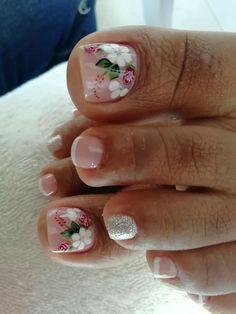 Toe Nail Designs, Toe Nails, Veronica, Manicure, Nail Art, Beauty, Fields, Finger Nails, Vestidos