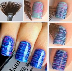 15 Easy and Simple Nail Art Designs for Beginners To Do At Home Here is the 15 Easy and Simple Nail Designs for Beginners To Do At Home. Learn Easy Nail Art Designs with this Given Step by Step Tutorial Pictures. Nail Art Hacks, Nail Art Diy, Nail Art Tools, Kid Nail Art, Nail Art Dotting Tool, Nail Art At Home, Nail Art For Kids, Nail Polish Hacks, Finger Nail Art
