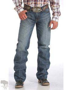 Mens Cinch Grant Jeans, Brown Pocket - Keffeler Kreations | HilltopBoutique.com - 1