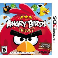 Angry Birds Trilogy (Nintendo 3DS) For Tyler