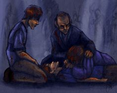 by Deisi on deviantArt -- I absolutely love how she portrayed this. Not that I love the fact that Fred died, but...