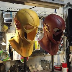 Reverse flash and the flash! O Flash, Flash Arrow, Zbrush, Costume Rouge, Flash Cosplay, Flash Tv Series, Star Trek, Reverse Flash, The Flash Grant Gustin