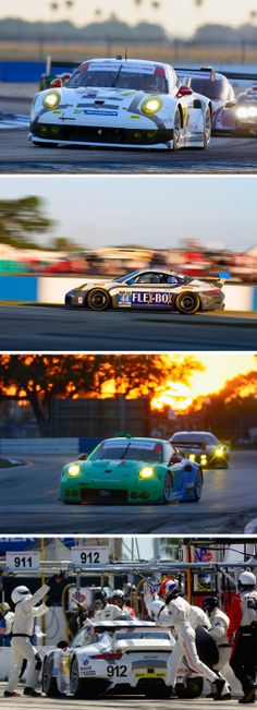Congratulations to Joerg Bergmeister, Patrick Long and Michael Christensen. With their 911 RSR, they scored GTLM class win in Sebring. John Potter, Andy Lally and Marco Seefried took the spoils in the GTD class and rounded off a successful day for Porsche!