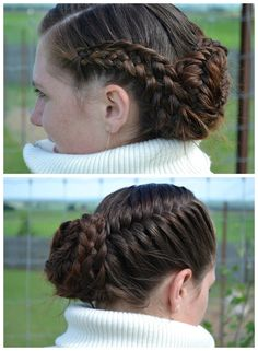 Long hair UP DO