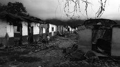 En el corregimiento de El Aro, municipio de Ituango (Antioquia), en una masacre que duró varios días, los paramilitares de las ACCU (Autodefensas Unidas de Córdoba y Urabá) [Fotografía: Jesús Abad Colorado]
