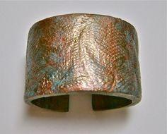 Tutorial - metallic-clay-cuff-bracelet