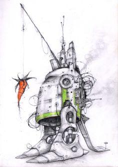 tantalization robot http://sergekortenbroek.nl/wp-content/uploads/2012/06/no23_serge_kortenbroek__RobotMetPeen.jpg