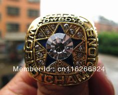 ba51fc79a Free Shipping fashion 1971 Dallas Cowboys Super bowl Championship Ring  solid fan gift men sport football