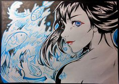like a water) by ProNastya.deviantart.com on @DeviantArt