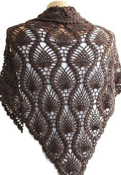 Een mooi ouderwetspatroon voor een omslagdoek: