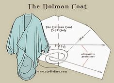 well-suited: Pattern Puzzle - The Dolman Coat and other vintage pattern drafting. Coat Patterns, Sewing Patterns Free, Free Sewing, Vintage Patterns, Clothing Patterns, Skirt Patterns, Blouse Patterns, Vintage Sewing, Fashion Patterns