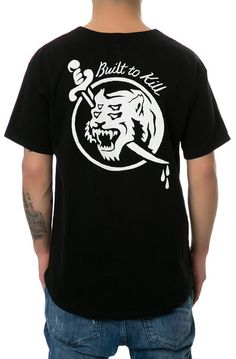 Loser Machine T-shirt The Brushback Jersey Tee in Black - Karmaloop.com