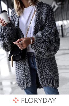 Long sleeve collarless sweaters coats, winter style, fashion, preorder.