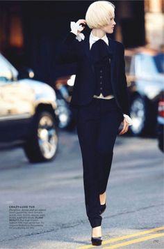cool Flare Magazine | Editorial de Moda Junho 2013 | Hannah Holman por Max Abadian