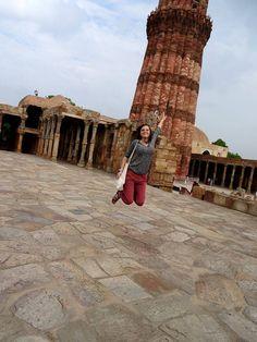 Właśnie mija mój 4 dzień w gorącym monsunowym Delhi. To niesamowite, jak szybko można zaklimatyzować się w nowym miejscu. :) (Agnieszka, Delhi)