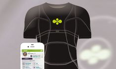 Smart T-SHIRT has GPS and sensors that monitor your heart rate http://dailym.ai/1o6nZa5
