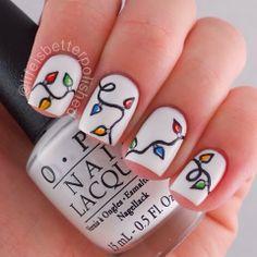 tips and topcoat shoutout sunday christmas winter nails winter nail art holiday