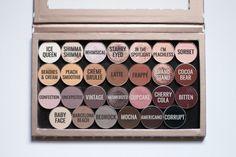 Make up geek palette