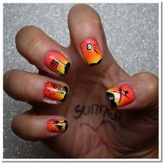 Pentagruelle's World: Summer nails pour Kate the nailista !