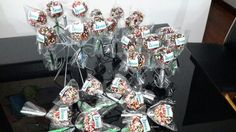 Cake Pops para llevar a Pasto con nuestro cliente Annar Cake Pops, Desserts, Food, Tailgate Desserts, Deserts, Essen, Postres, Meals, Dessert