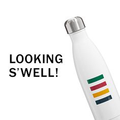 STRIPE NEW | HBC X S'WELL  The new Striped S'well water bottle supports local charities to bring water to the world's poorest communities.  Look great while doing good. #hbccollections  #hbcc  #swellbottle  #multistripe  #water  #swell #backtoschool
