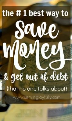There is so much info out there about saving money on this or that. But if you're truly committed to getting out of debt, this is the ONE thing that you will eventually have to do. It's a transformation of mindset. And it's something that most people are not going to tell you.