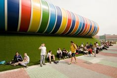 Sports Facility Strijp - Picture gallery