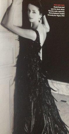 Gloria Guiness models Givenchy for Vogue, 1961. c/o Vogue, November 1999.