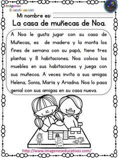 Lecturas comprensivas para Primaria y primer grado. Las aventuras de Noa y Hugo - Imagenes Educativas