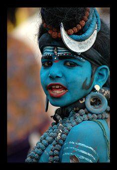Pushkar Faire Shiva boy.