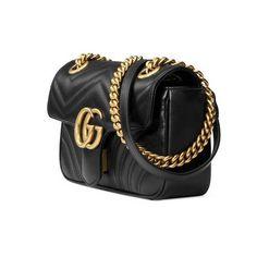 a1bbecc2f GG Marmont medium matelassé shoulder bag – Gucci Shoulder Bags  443496DRW3T1000