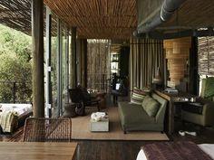Situated in Kruger National Park, South Africa Singita Sweni is a luxury design safari lodge. Africa Safari Lodge, African Interior Design, Lodge Style, Kruger National Park, Piece A Vivre, Decoration, House Design, Home Decor, African Safari