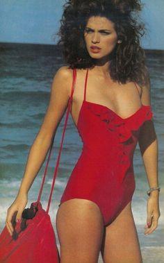 Halston - Model Gia Carangi -1980