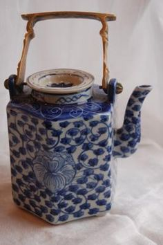 An antique Japanese Teapot.