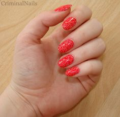 Criminal Nails Nailz Craze stamping manicure Manicure, Nails, Stamping, Strawberry, Fruit, Nail Bar, Finger Nails, Ongles, Nail Manicure