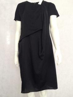 Carven Black Dress £225 Size 42 European