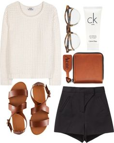 hi I'm new to this board this outfit looks so casual but chic at the same time Fashion Mode, Look Fashion, Womens Fashion, Mode Outfits, Casual Outfits, Fashion Outfits, Spring Summer Fashion, Spring Outfits, Holiday Outfits