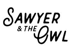 Sawyer & the Owl Company Logo, Logos, A Logo, Legos