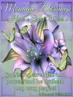 Monday Blessings ~~
