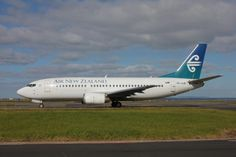 We flew from Brisbane to Auckland on an Air New Zealand 737 in January 2011.