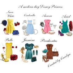 a modern day disney princess