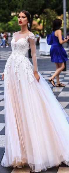 Katherine Joyce Ma Cherie Wedding Dress Dolores / http://www.deerpearlflowers.com/katherine-joyce-wedding-dresses-2018/