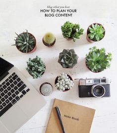 How to plan your blog content