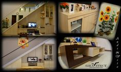 Family Room, Living Room, Custom Furniture, Interior Photography, Home decor by Gravitect Indonesia