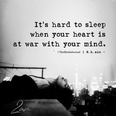 It's Hard To Sleep themindsjournal.c… Source by themindsjournal Poem Quotes, True Quotes, Words Quotes, Best Quotes, Motivational Quotes, Inspirational Quotes, Hard Life Quotes, Love Is Hard Quotes, Happy Quotes