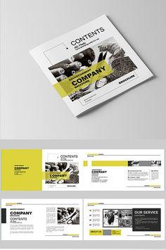 Portfolio Tips for Architecture Students Graphic Design Brochure, Corporate Brochure Design, Brochure Layout, Brochure Template, Brochure Cover, Design Portfolio Layout, Page Layout Design, Magazine Layout Design, Design Design